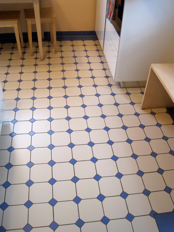 Küchenboden Mit Steinzeugfliesen